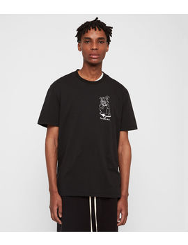 Depressed Mode Crew T Shirt by Allsaints