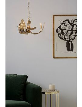 Palm Frond Chandelier by Anthropologie