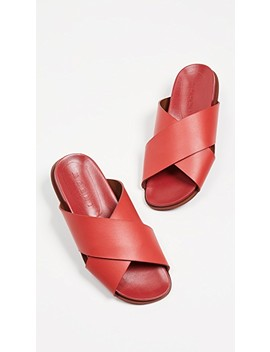 Fussbett Crisscross Slides by Marni