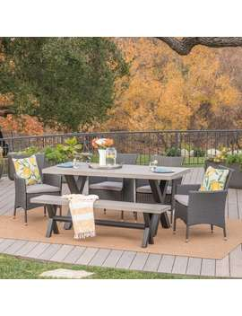 Fairmount Outdoor 6 by Christopher Knight Home