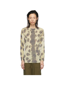 Multicolor Nike Edition Camo Transfer Long Sleeve T Shirt by 1017 Alyx 9 Sm
