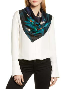 Houdini Square Silk Scarf by Ted Baker London