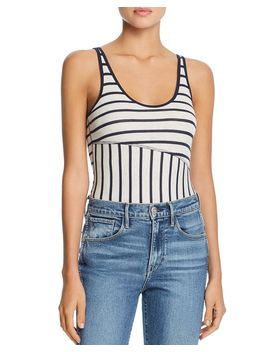 Striped Bodysuit by Atm Anthony Thomas Melillo