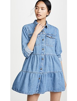 nicole-denim-shirtdress by free-people