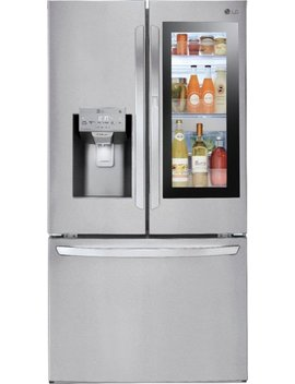 27.5 Cu. Ft. French Insta View Door In Door Smart Wi Fi Enabled Refrigerator   Stainless Steel by Lg