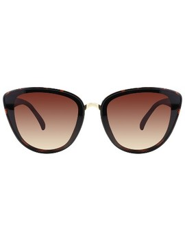 Women's Plastic Cateye Sunglasses   A New Day Brown by A New Day Brown
