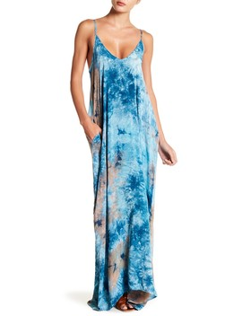 Tie Dye Gauze Maxi Dress by Love Stitch