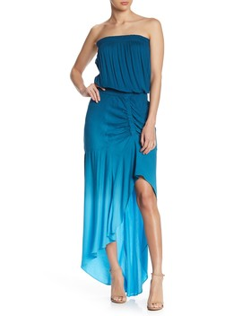 Dreamboat Strapless Hi Lo Maxi Dress by Yfb By Young Fabulous & Broke