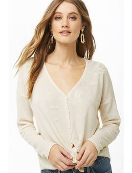 button-front-knotted-top by forever-21