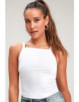 Set Up White Tank Top by Free People