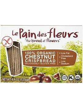 Le Pain Des Fleurs Organic Chestnut Crispbread, 4.41 Oz by Le Pain Des Fleurs