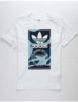 Adidas Camo Box Boys T Shirt by Adidas