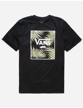Vans Print Box Sunny Lime Palm Boys T Shirt by Vans