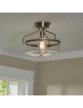 Azure 1 Light Semi Flush Mount by Andover Mills