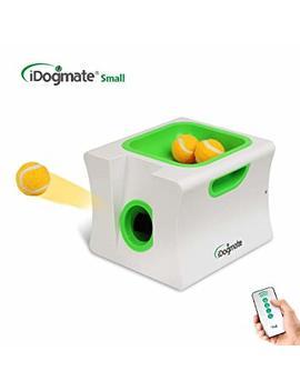 Idogmate Small Dog Ball Launcher,Automatic Dog Ball Thrower For Mini Dog (Small Machine With 3 Balls) by Idogmate