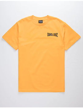 Santa Cruz Rippling Gold Mens T Shirt by Santa Cruz