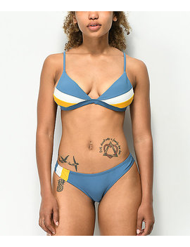 Damsel Winterfell Colorblock Cheeky Bikini Bottom by Damsel