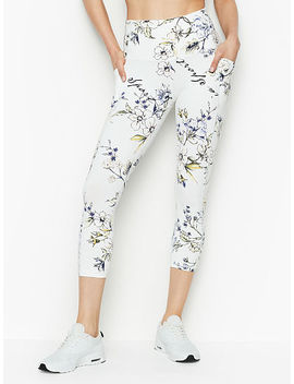 Knockout By Victoria Sport High Rise Pocket Capri by Victoria Sport