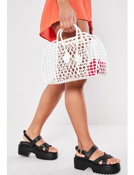 White Basket Bag by Missguided