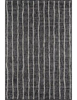 "Novogratz Villa Collection Sicily Indoor/Outdoor Area Rug, 2'0"" X 3'0"", Charcoal by Novogratz By Momeni"