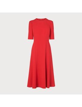Vena Red Dress by L.K.Bennett