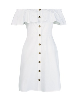 **Ivory Button Through Sundress by Dorothy Perkins