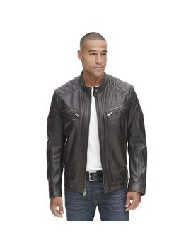 Mason Vintage Quilted Leather Jacket by Wilsons Leather