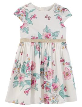 Floral Tea Party Dress by Oshkosh