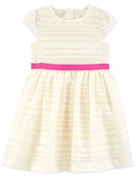 striped-tea-party-dress by oshkosh