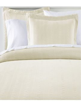 Cable Stitched Matelasse Bedspread by L.L.Bean