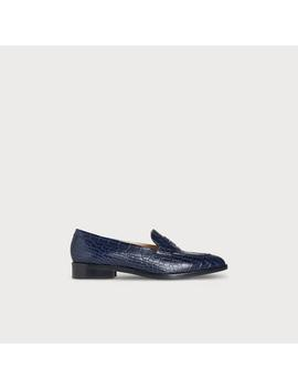 Iona Navy Loafers by L.K.Bennett