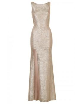 Tfnc Fatima Gold Maxi Dress by Tfnc London
