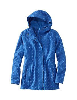 Women's H2 Off Rain Prima Loft Lined Jacket, Print by L.L.Bean