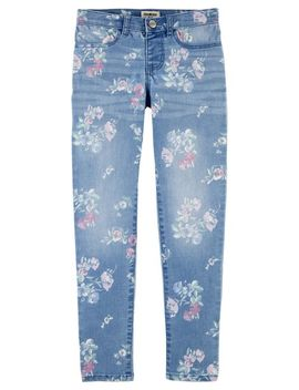 Floral Jeggings by Oshkosh