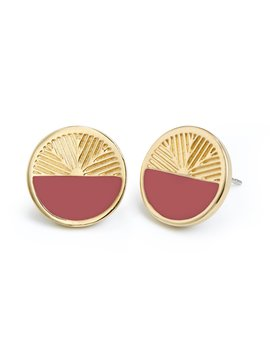 Lex Colorblock Earrings by Brook And York
