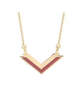 Chelsea V Necklace by Brook And York