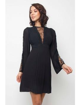 Tfnc Pascle Black Mini Dress by Tfnc London