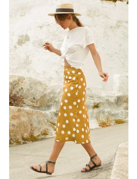 Amie Skirt   Mustard by Lovely Pepa Collection