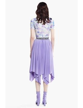 Pleated Ruffle Skirt by Genuine People