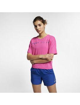 Nike Dri Fit Miler Women's Short Sleeve Running Top. Nike.Com Gb by Nike