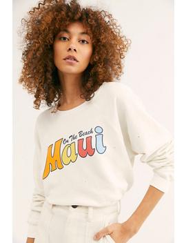 maui-graphic-pullover by retro-brand-black-label