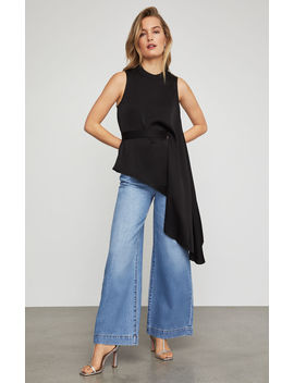 asymmetrical-peplum-top by bcbgmaxazria