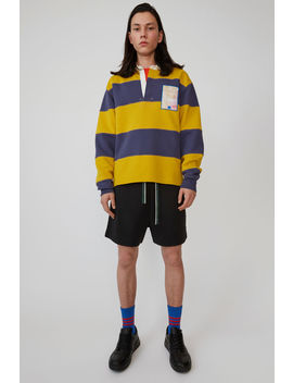 Rugby Shirt Denim Blue by Acne Studios