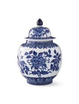 Chrysanthemum Ginger Jar by Williams   Sonoma