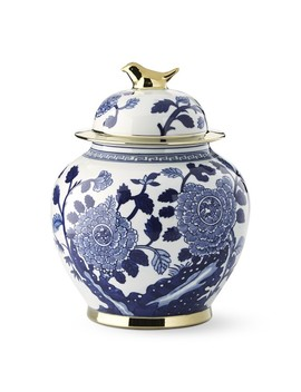 Ginger Jar With Figural Handle, Bird by Williams   Sonoma