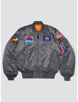 Exclusive Ma 1 Usaf Habu Flight Jacket by Alpha Industries