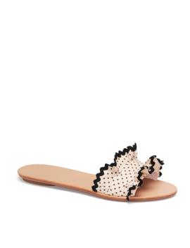 Birdie Ruffle Slide Sandal by Loeffler Randall