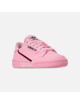 Girls' Big Kids' Adidas Originals Continental 80 Casual Shoes by Adidas