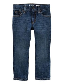 Bootcut Jeans   Dark Indigo Wash by Oshkosh