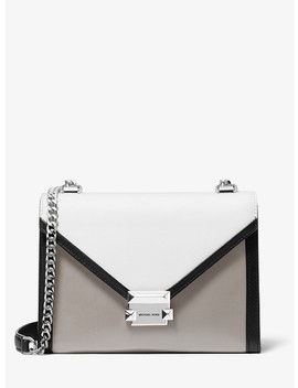 whitney-large-tri-color-leather-convertible-shoulder-bag by michael-michael-kors
